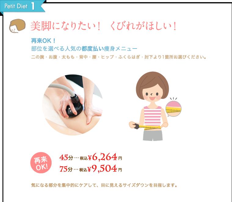 Petit Diet-1 美脚になりたい!くびれがほしい!